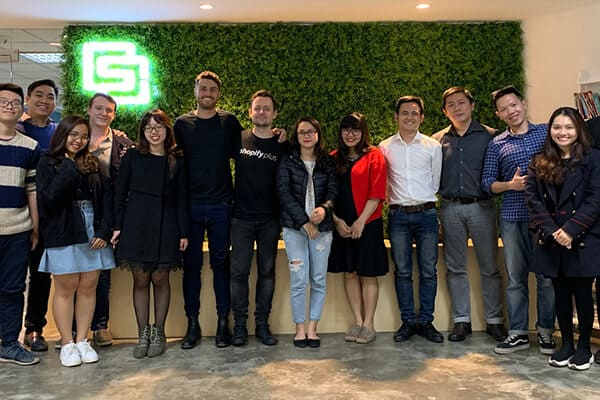 shopify at smartosc office